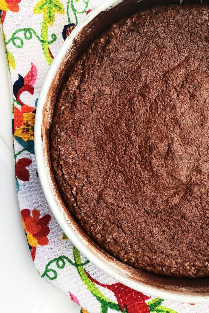 Best Flourless Chocolate Cake made with almond meal