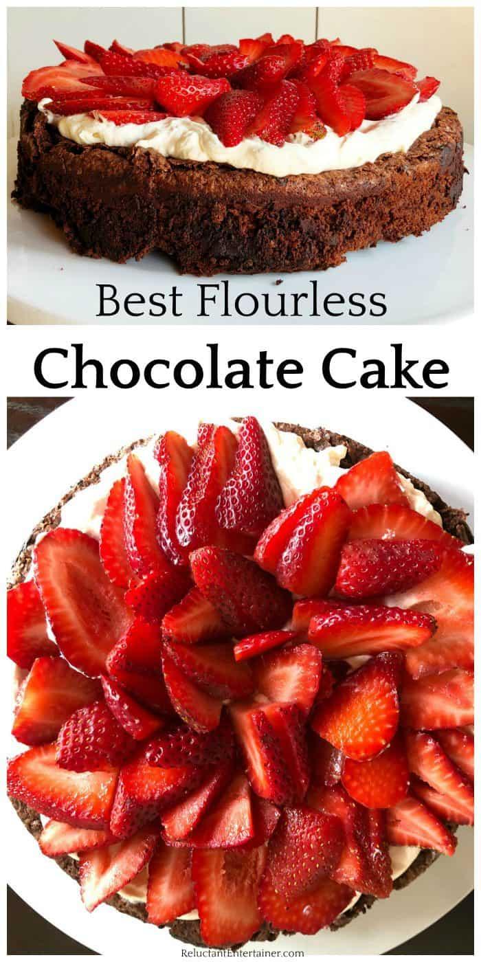 The Best Flourless Chocolate Cake