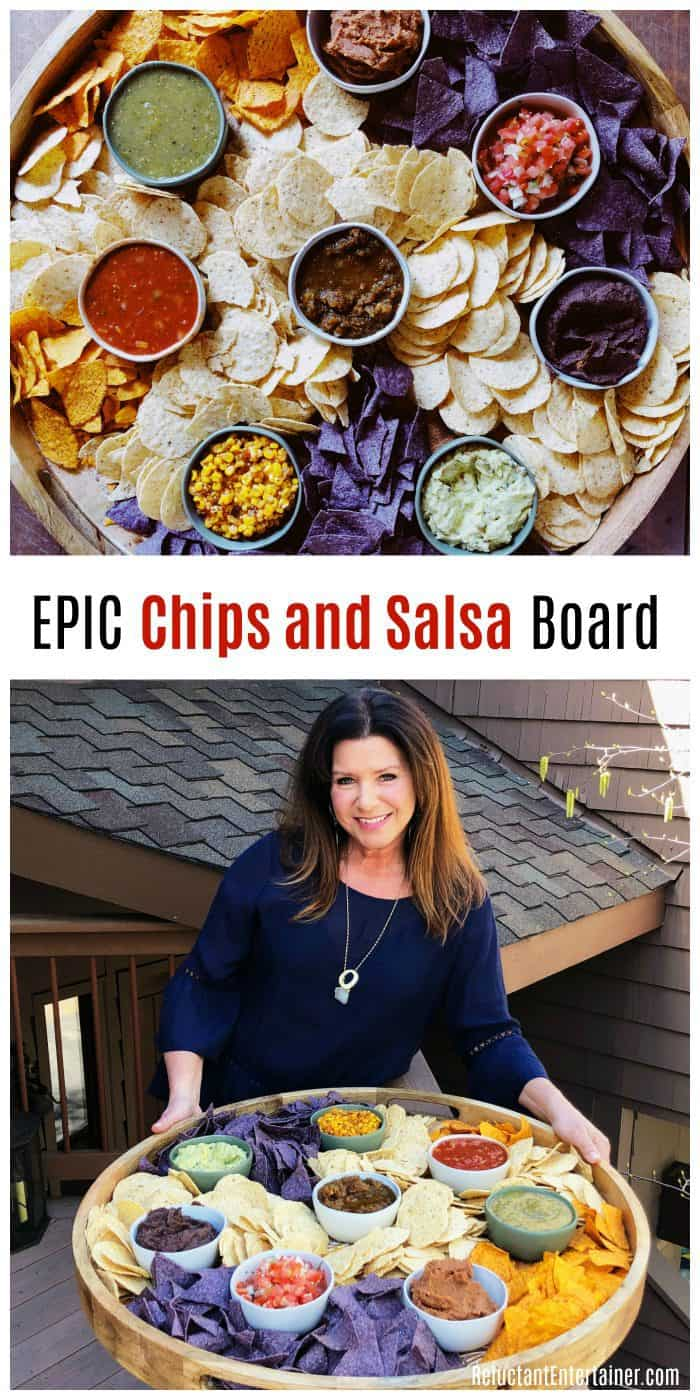 EPIC Chips and Salsa Board Shopping List