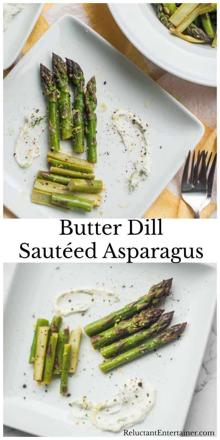 Butter Dill Sautéed Asparagus Recipe