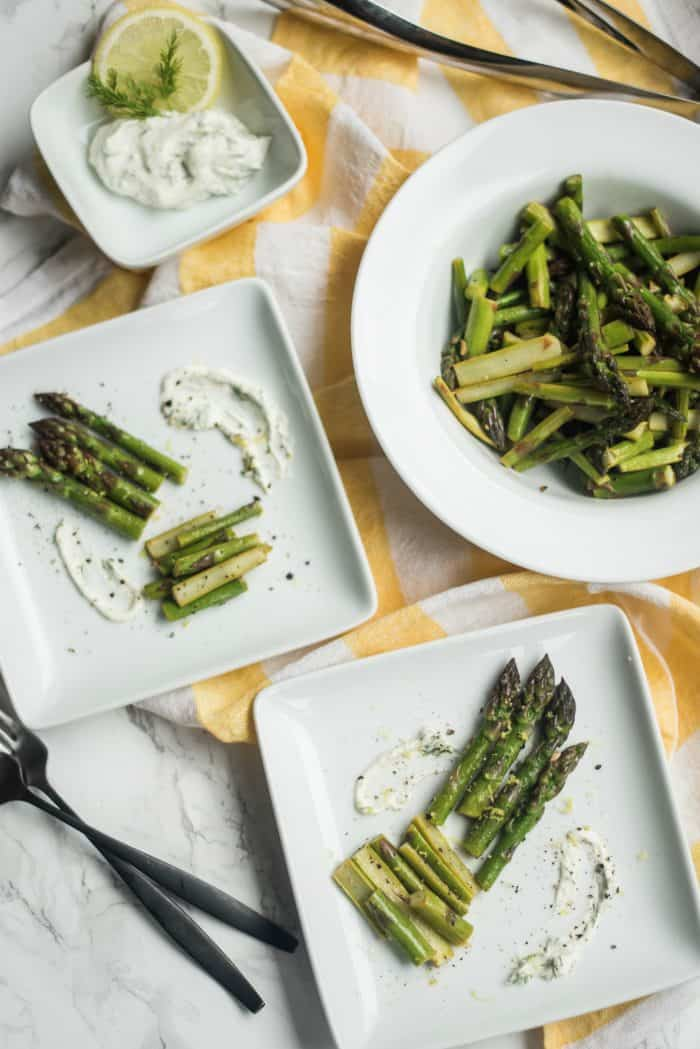 Delicious Butter Dill Sautéed Asparagus