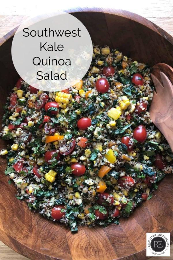 Southwest Kale Quinoa Salad