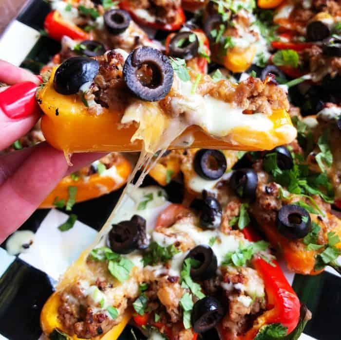 Taco Mini Stuffed Peppers - BITE