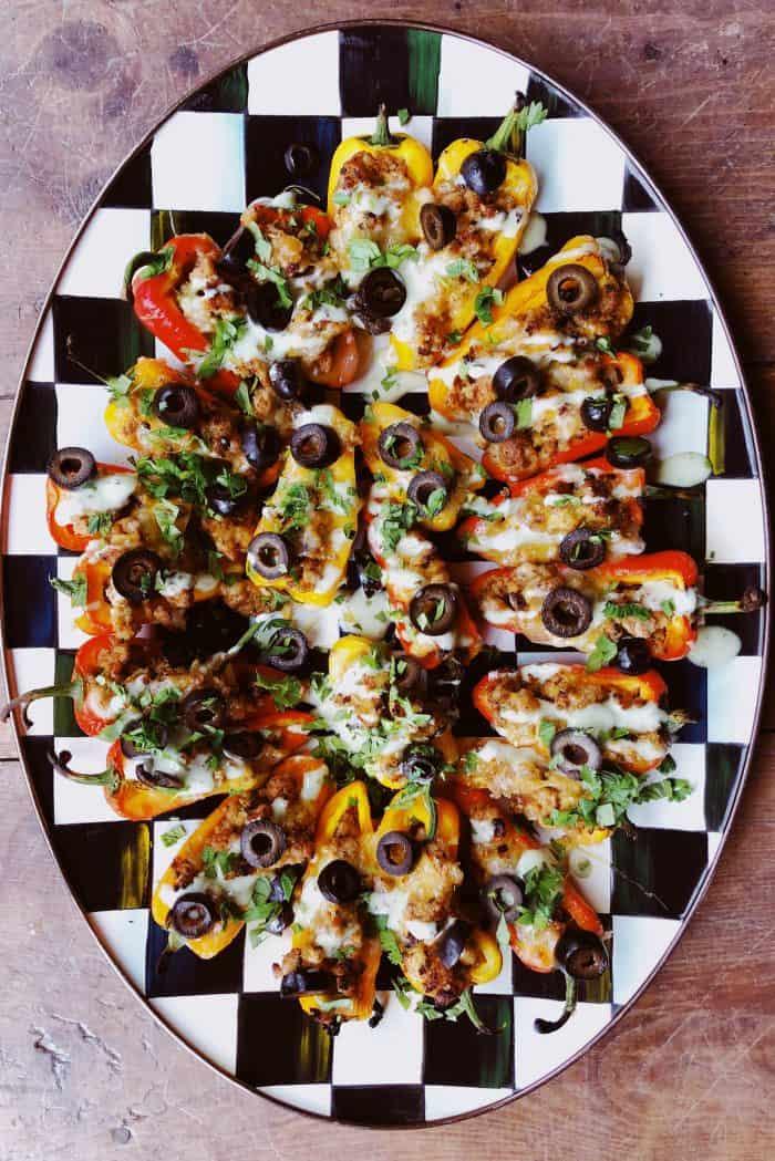 Best Taco Mini Stuffed Peppers recipe