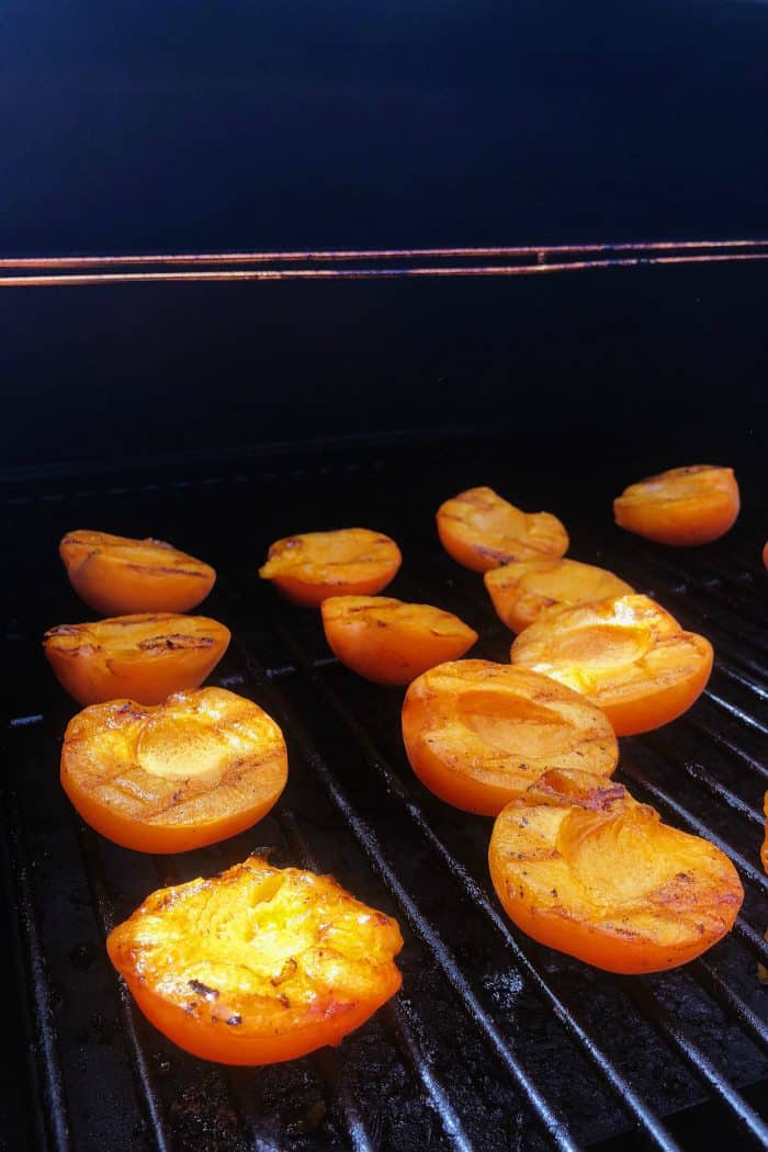 Summer Grilled Apricots