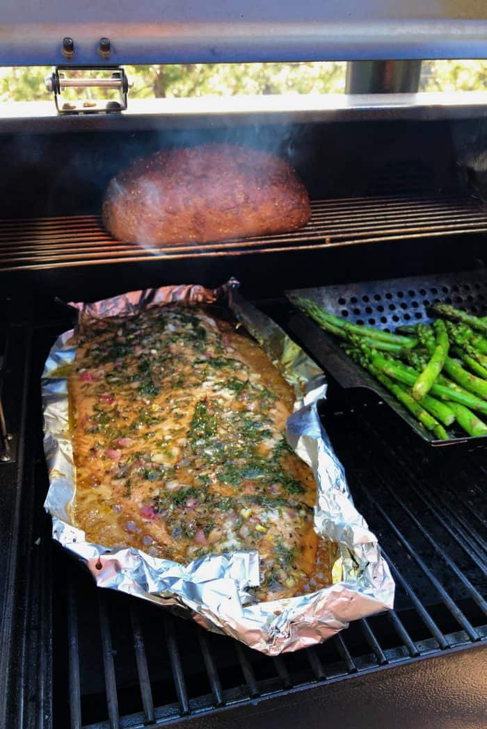 BEST Dill Shallot Grilled Salmon Recipe