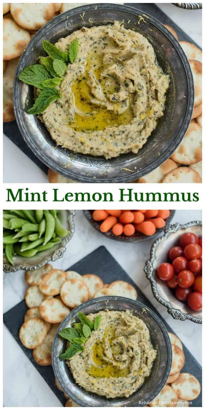 Mint Lemon Hummus