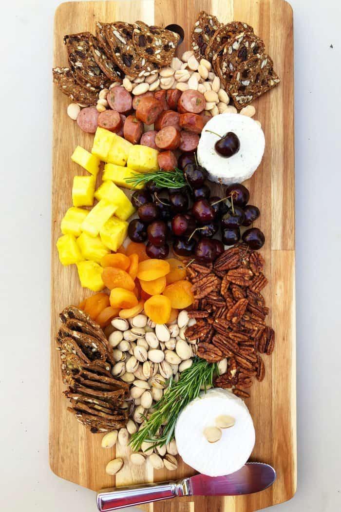 Summer Pineapple Cheese Board