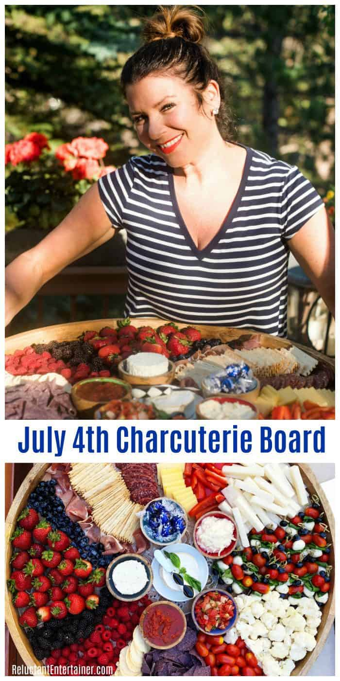 How to Make an Epic PATRIOTIC July 4th Charcuterie Board