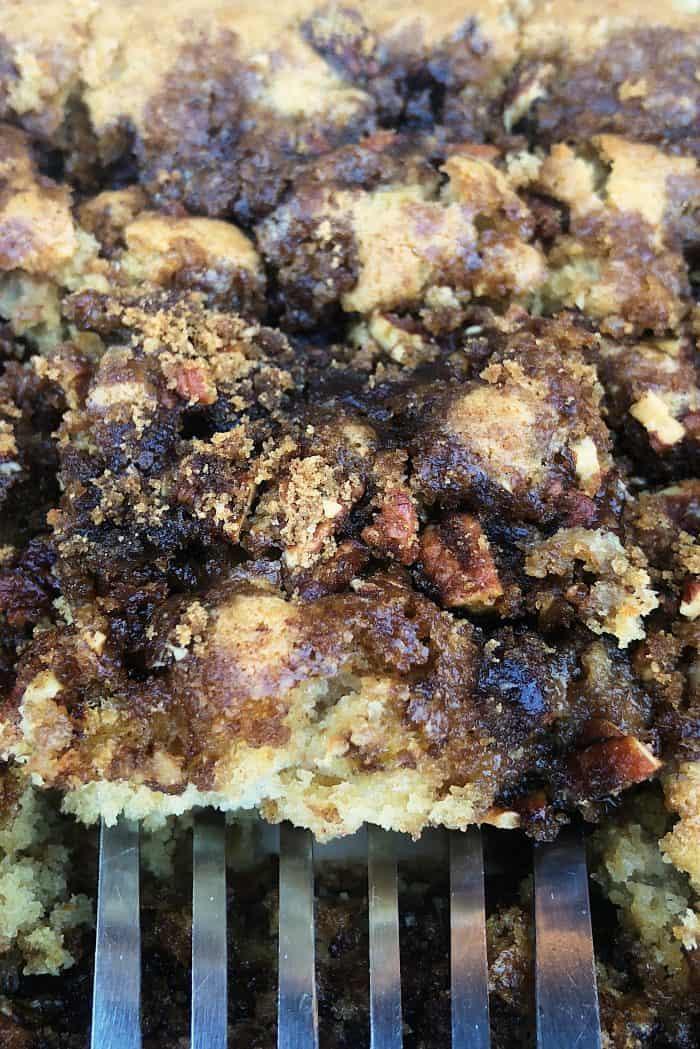 Easy Rhubarb Buttermilk Coffee Cake