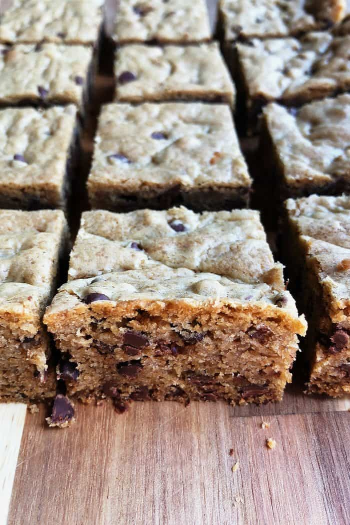 FREEZE Chocolate Chip Cookie Bars Recipe