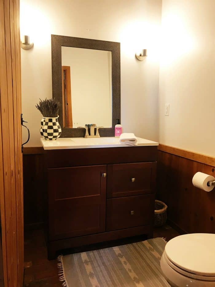 DIY Mountain Home Bathroom Remodel - AFTER