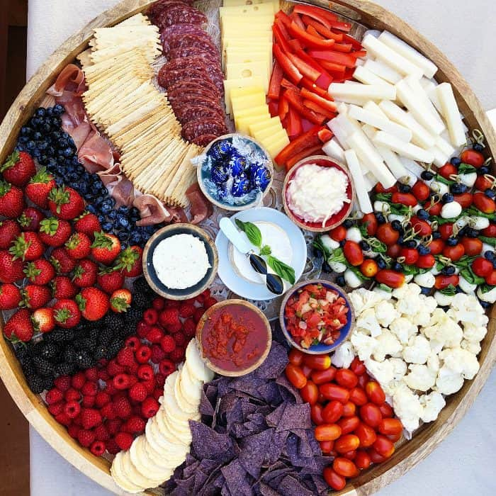 How to Make an Epic July 4th Charcuterie Board - dig in