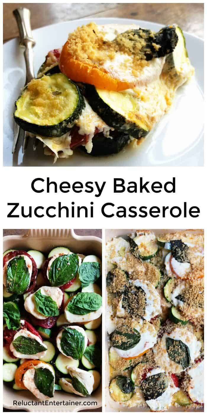 Cheesy Baked Zucchini Casserole Recipe