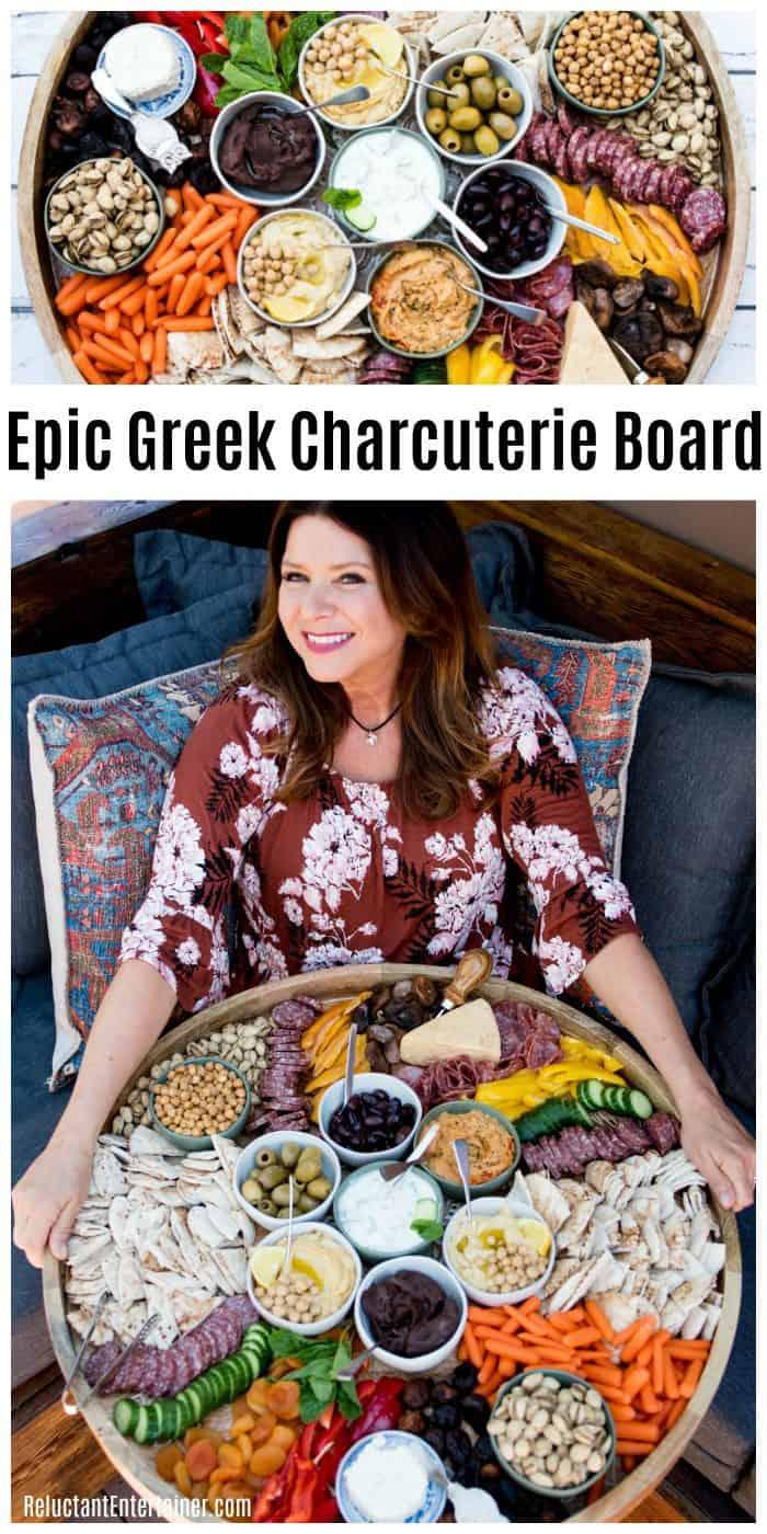 Epic Greek Charcuterie Board Recipe
