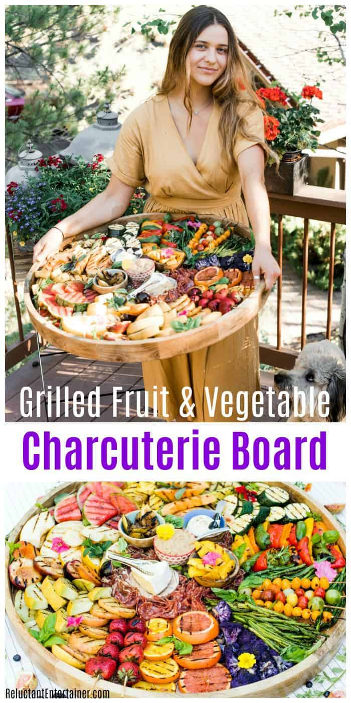 Grilled Fruit Vegetable Charcuterie Board RECIPE