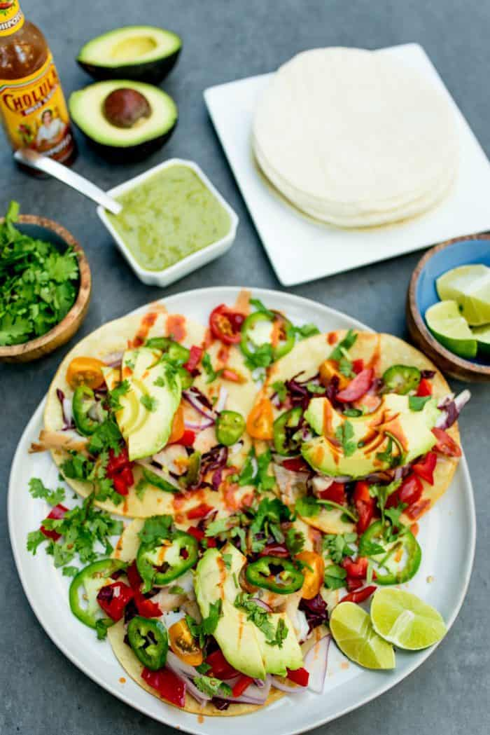 Easy Grilled Rockfish Tacos