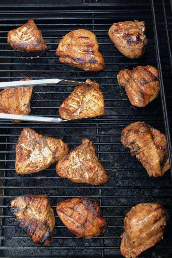 Grilled Honey Glazed Balsamic Chicken