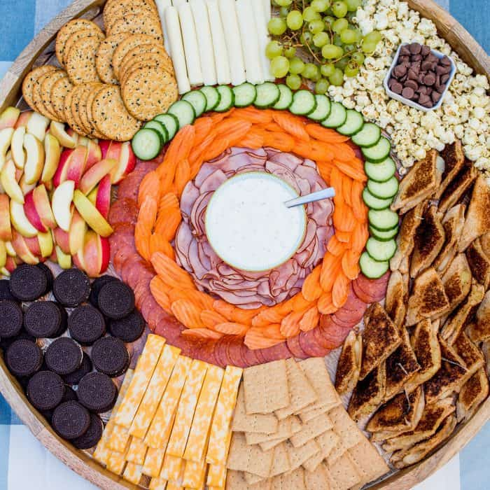EASY Kid-Friendly Grilled Cheese Charcuterie Board