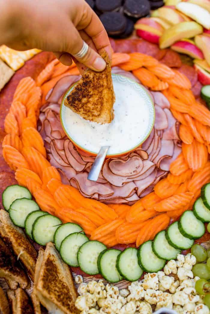 Tasty Kid-Friendly Grilled Cheese Charcuterie Board