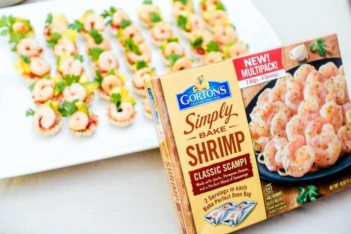 Easy Shrimp Scampi Taco Bites