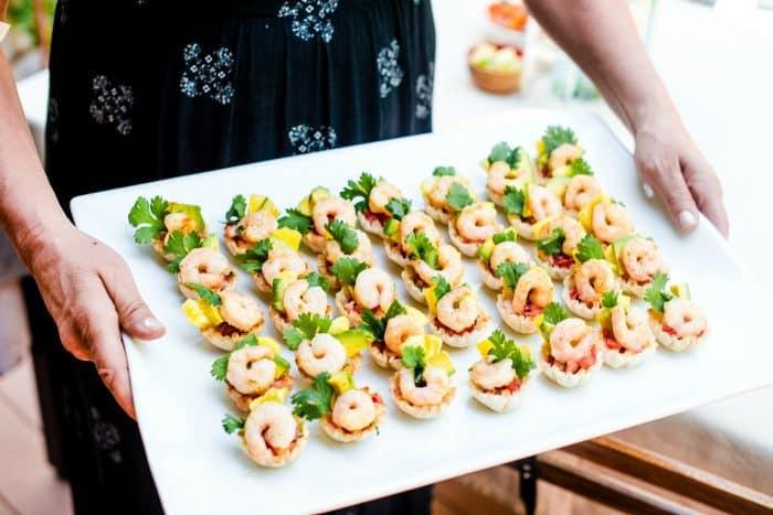 Easy Shrimp Scampi Taco Bites Recipe