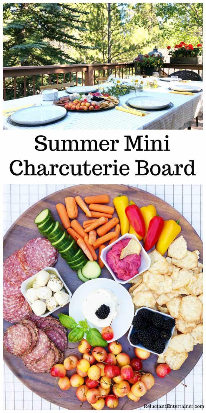 Summer Mini Charcuterie Board RECIPE