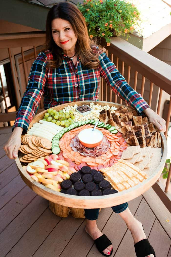 EPIC Kid-Friendly Grilled Cheese Charcuterie Board