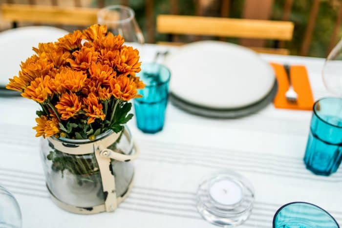 MUMS Set the Table with Blackberry Lemon Cups Dessert