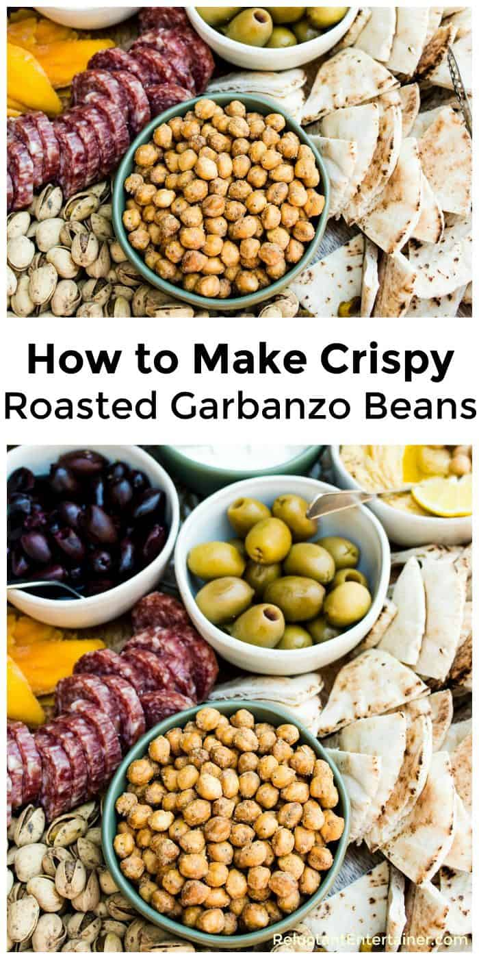 How to Make Crispy Roasted Garbanzo Beans Recipe
