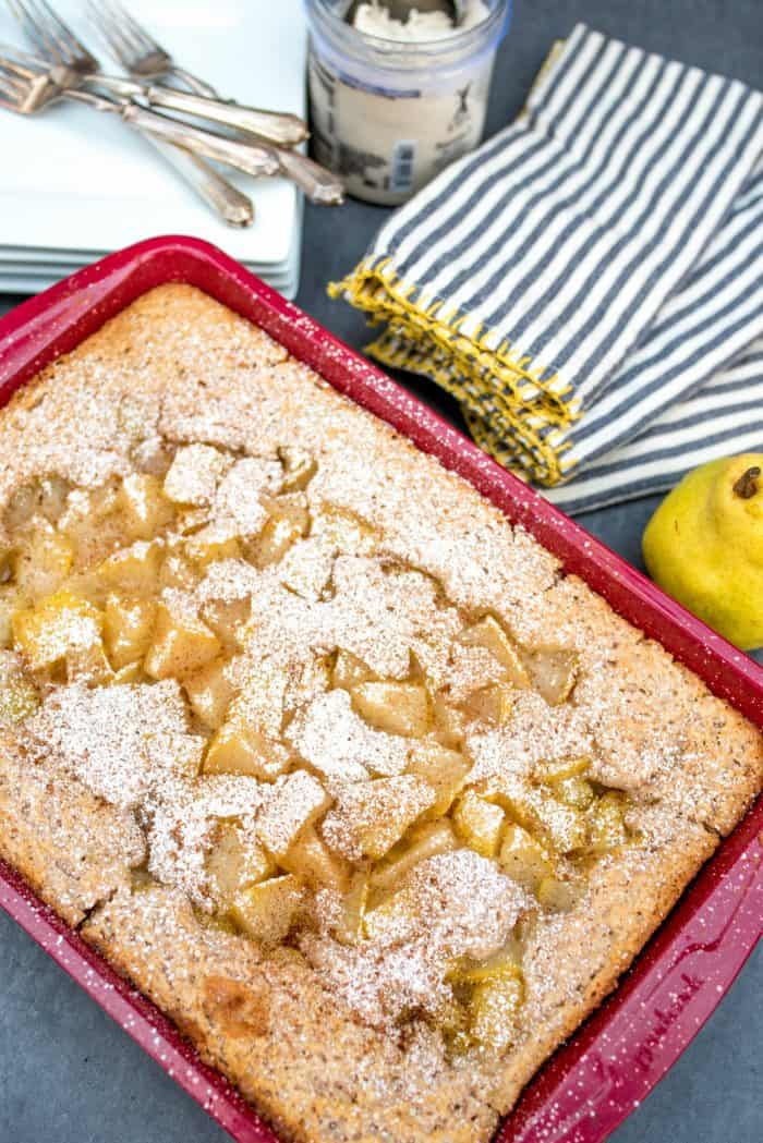 Tasty No-Peel Easy Pear Cobbler Recipe