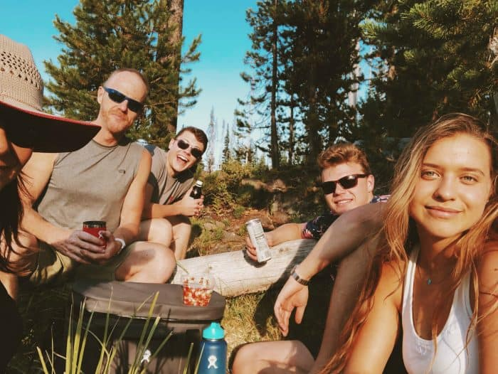 picnic Hosmer Lake