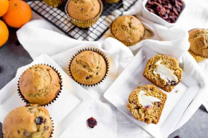 Delicious Pumpkin Cranberry Muffin Recipe