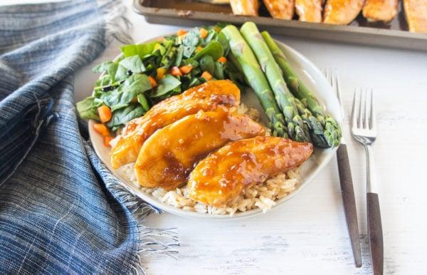 Baked Teriyaki Chicken Tenders Recipe