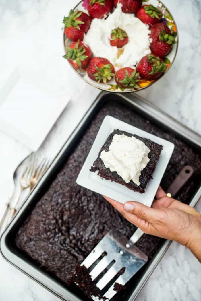 Tasty Last-Minute Crazy Cake Recipe