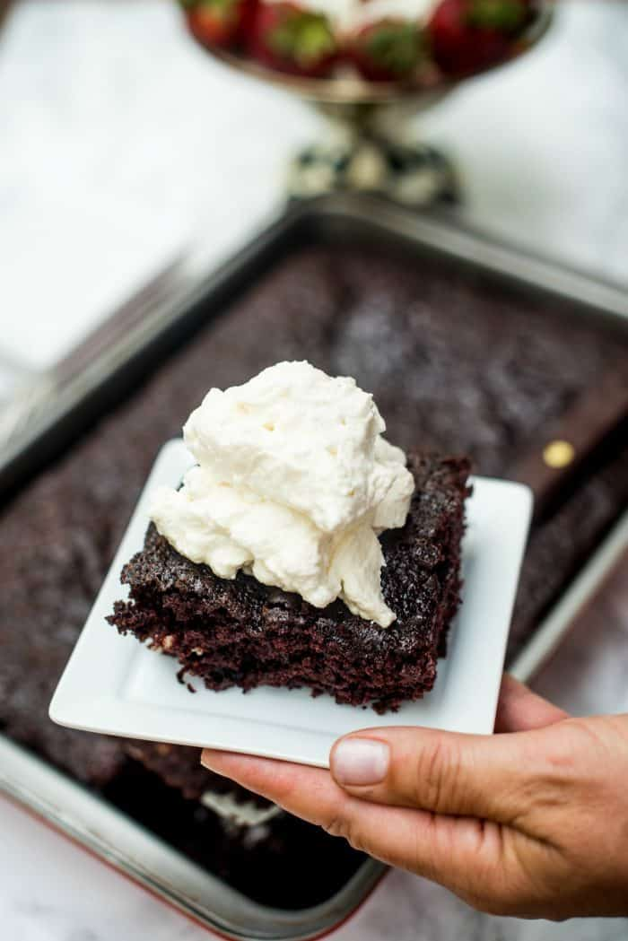 Tasty Crazy Cake Recipe