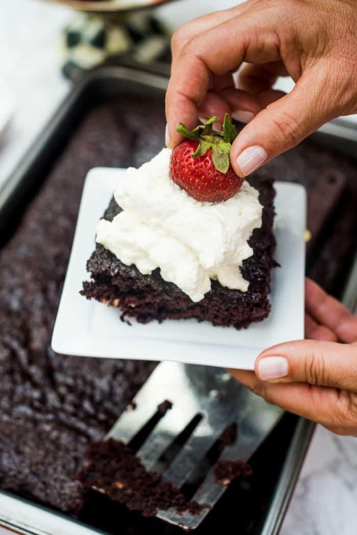 Last-Minute Crazy Cake Recipe