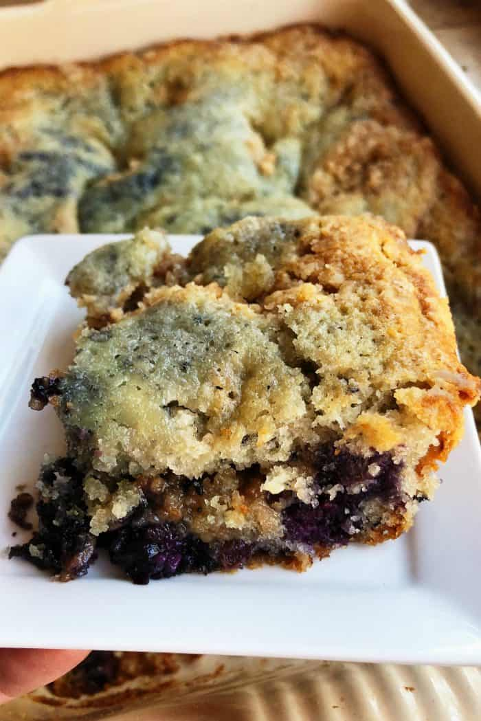 Tastey Newfoundland Blueberry Buckle Recipe