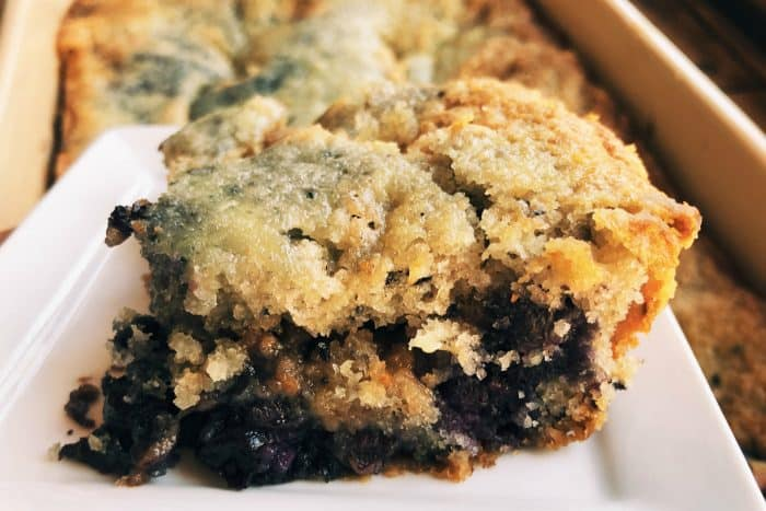 Best Newfoundland Blueberry Buckle Recipe