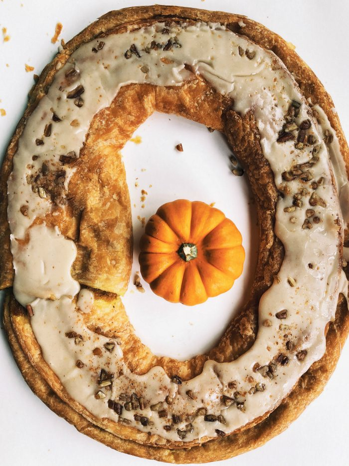 Trader Joe's EPIC Pumpkin Pancakes Board - kringle