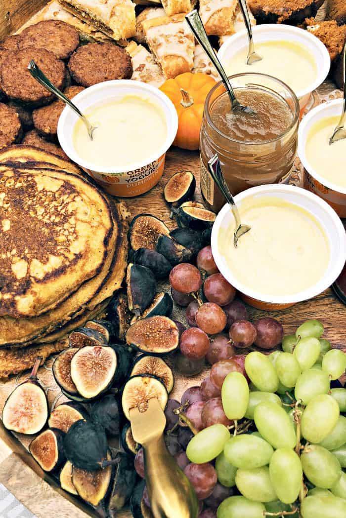 Easy Trader Joe's EPIC Pumpkin Pancakes Board