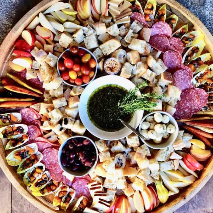 Tasty Bertolli® Olive Oil Italian Bread Dipping Oil Charcuterie Board