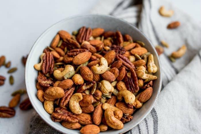 Cinnamon Orange Roasted Nuts Recipe