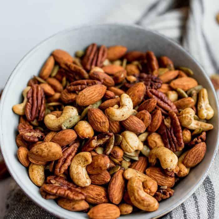 Best Cinnamon Orange Roasted Nuts Recipe