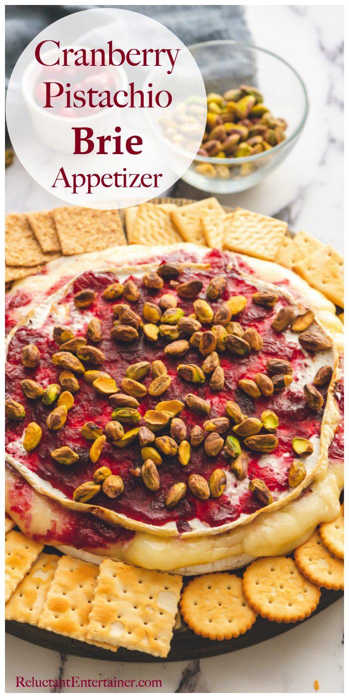 Cranberry Pistachio Brie Appetizer Recipe
