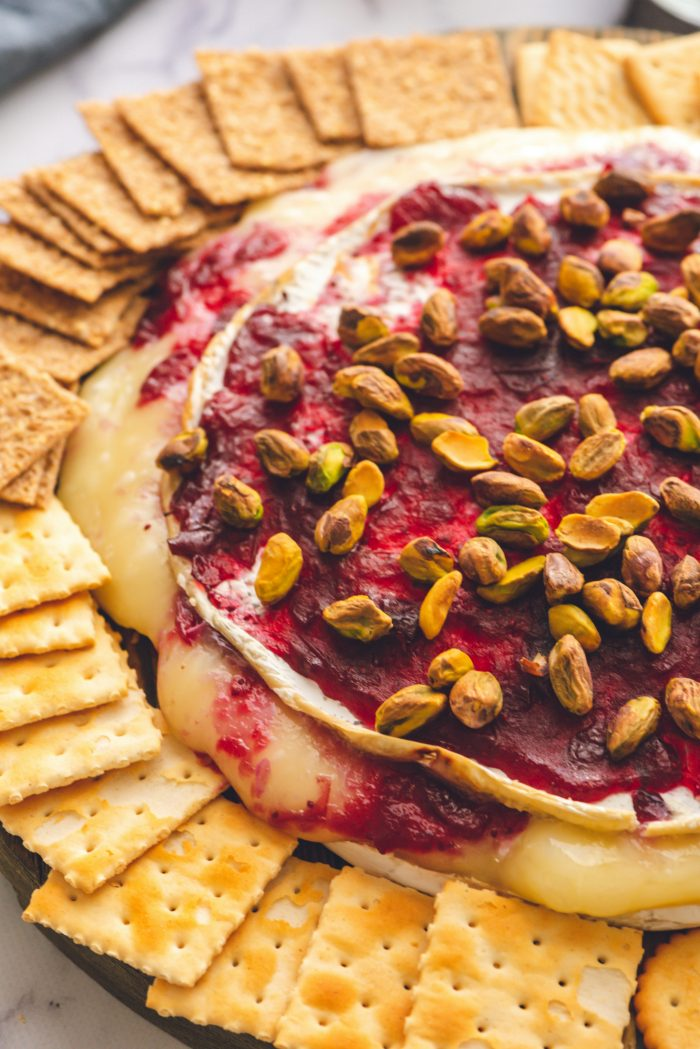 Best Cranberry Pistachio Brie Appetizer