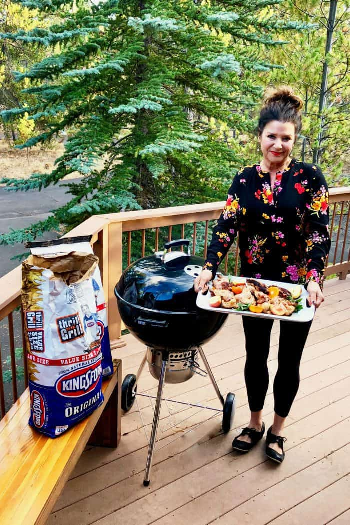 Grilled Cornish Game Hens - dinner's ready