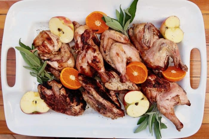 Easy Grilled Cornish Game Hens