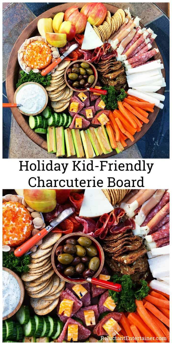 Holiday Kid-Friendly Charcuterie Board Treats