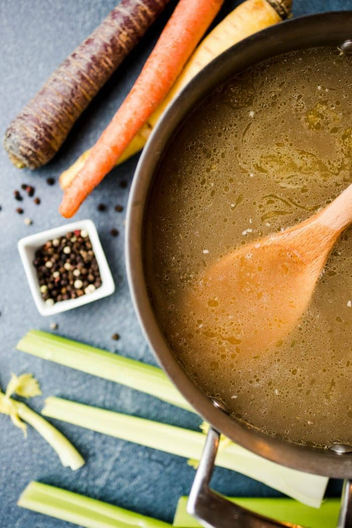 How to Make BEST Instant Pot Chicken Stock
